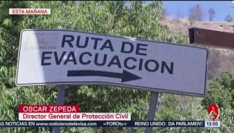 Foto:México diseña simulacro regional de erupción volcánica