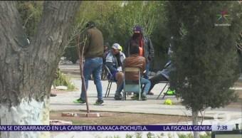 Migrantes centroamericanos están varados en Ciudad Juárez, Chihuahua