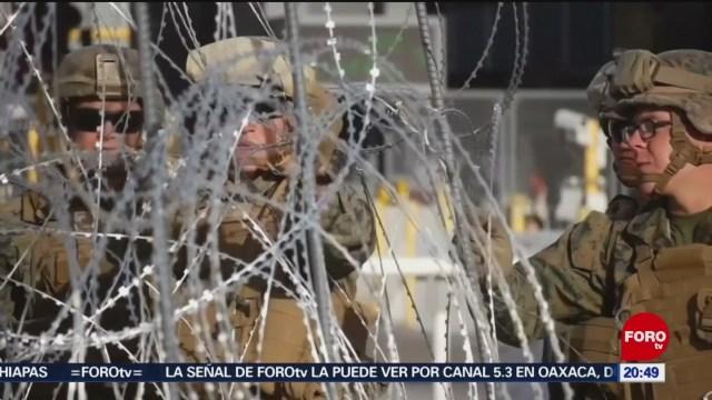 Foto: Migrantes Colapsan Frontera México-EEUU 5 de Marzo 2019