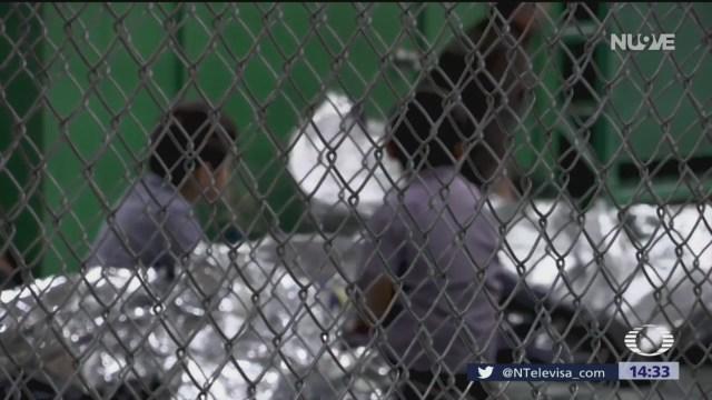Foto: Migrantes en cuarentena en EU por brote de paperas