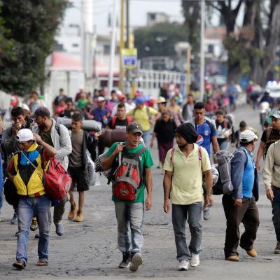 México atenderá con empleo el flujo de migrantes centroamericanos a EU: AMLO