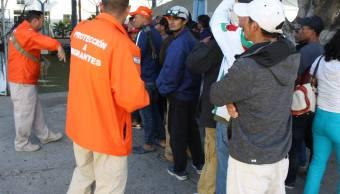 Foto: atención a migrantes centroamericanos, noviembre 2018. INM