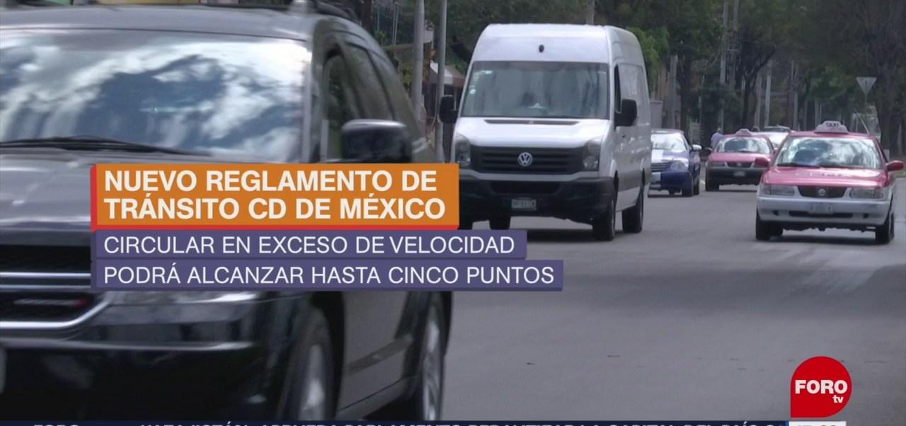 Foto: Modificaciones al reglamento de tránsito en la CDMX