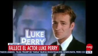 Muere el actor Luke Perry, estrella de Beverly Hills 90210
