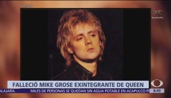 Foto: Muere Mike Grose, integrante de Quenn