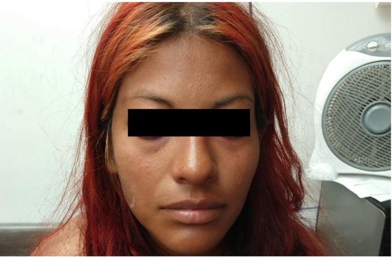Imagen: Ana Gabriela obligó a su hija a realizar actos sexuales, el 3 de marzo de 2019 (Fiscalía del Edomex)