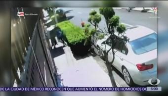 Mujer frustra asalto en calles de la alcaldía Azcapotzalco