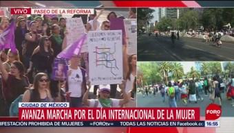 FOTO: Mujeres exigen respeto a sus derechos con marcha, 8 MARZO 2019