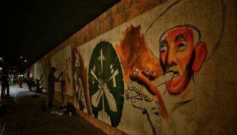 Foto. En las calles de Suchiapa se podrán ver murales que reflejan la cultura del pueblo Zoque, 9 marzo 2019