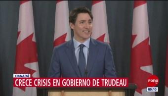Niega Trudeau injerencia en el caso de la empresa SNC-Lavalin