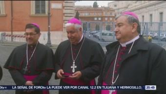 Foto: Obispos Mexicanos Papa Francisco Vaticano 1 de Marzo 2019