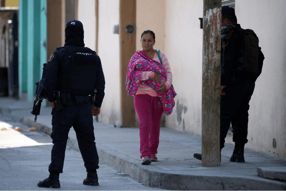 Foto: Operativo en Santa Rosa de Lima, Guanajuato, 6 de marzo de 2019, México