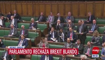 Parlamento británico rechaza acuerdo Brexit negociado por Theresa May