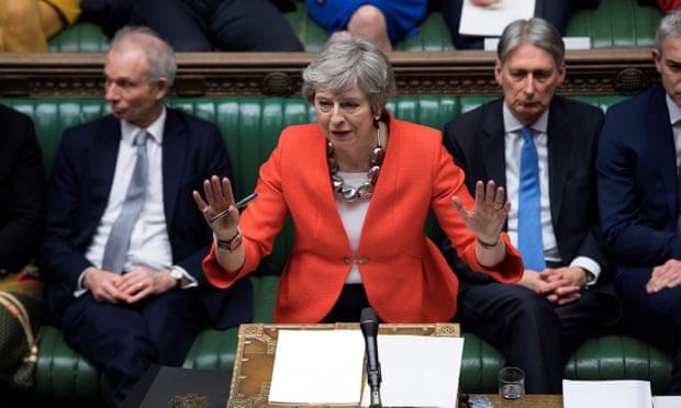 FOTO Parlamento británico rechaza acuerdo de Brexit, por segunda vez (Getty Images londres 12 marzo 2019