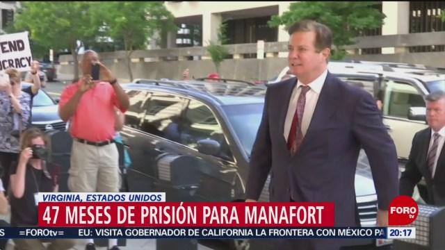 Foto:Paul Manafort, Sentenciado Cárcel Fraude Trump 7 de Marzo 2019