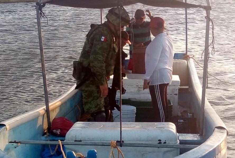 Foto: Implementan operativo permanente contra pesca furtiva en Yucatán (Twitter: @LaRevistaP)