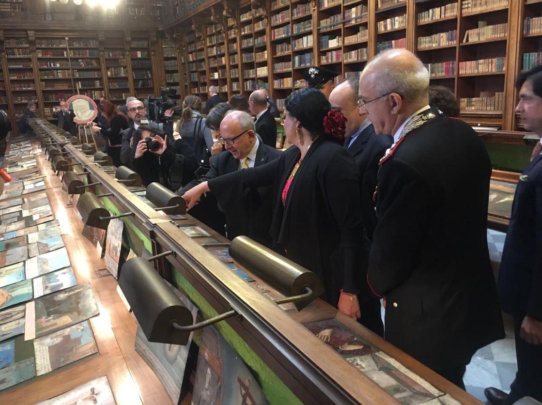 Foto: Italia devolvió oficialmente a México 594 pinturas ex voto sustraídas ilegalmente al patrimonio cultural mexicano, 6 marzo 2019