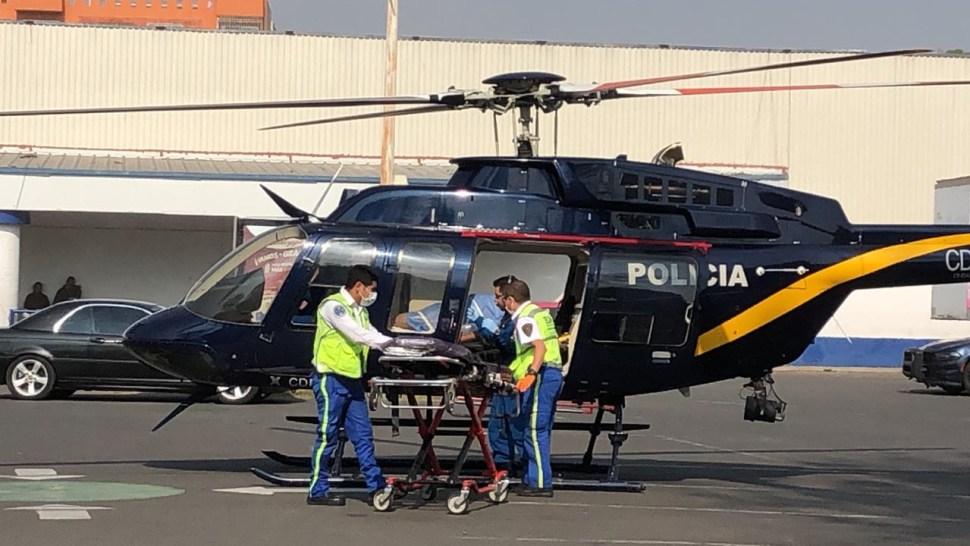 FOTO Pipa de gas explota en Milpa Alta, CDMX; hay heridos graves (Noticieros Televisa cdmx 21 marzo 2019)