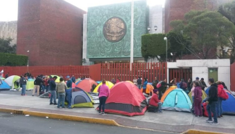 CNTE: Plantón cobra factura en salud de los maestros