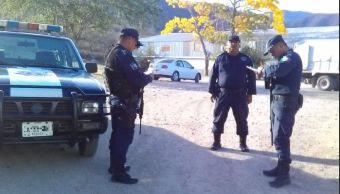 Foto: Operativo de seguridad en Oaxaca, 27 de febrero 2019. Twitter @SSP_GobOax