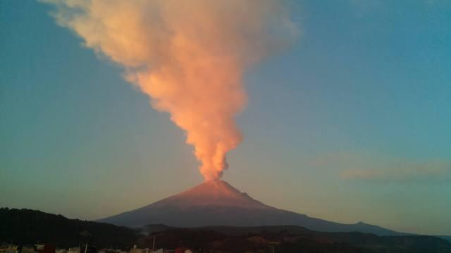 FOTOS México prepara simulacro de erupción volcánica (AP archivo 2015)