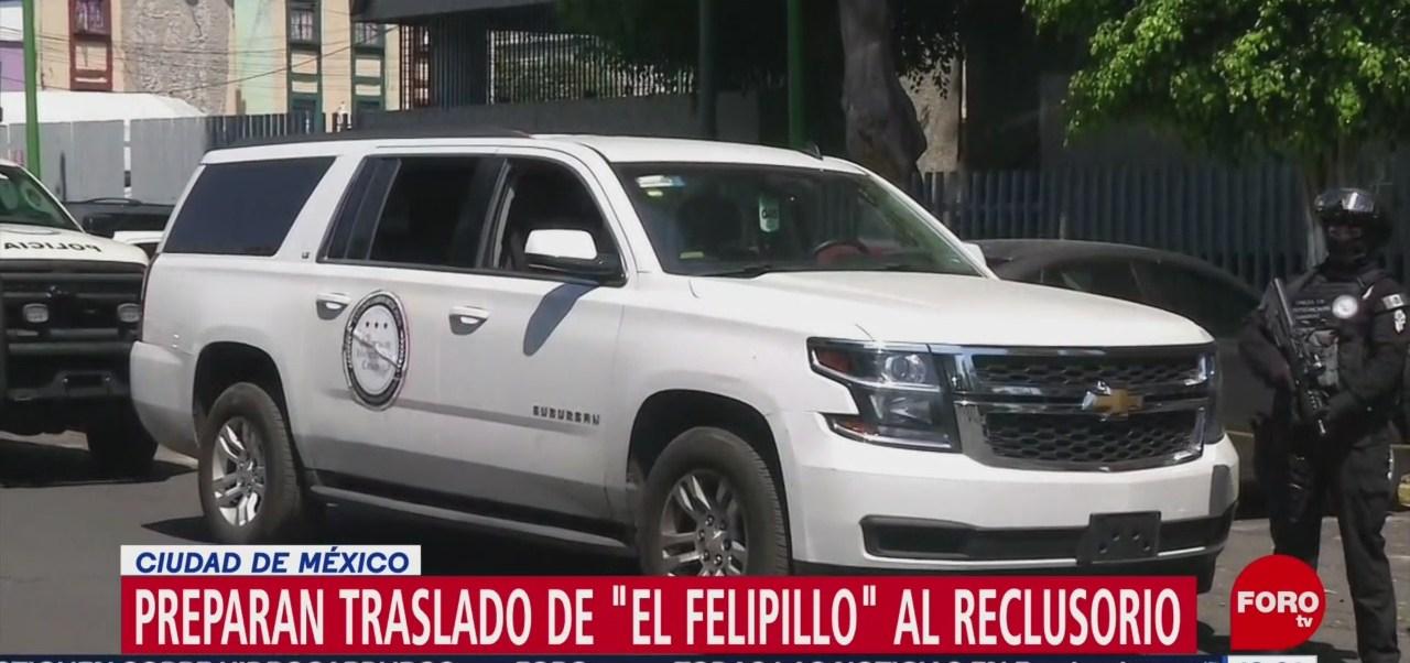 """Foto: Preparan traslado de """"El Felipillo"""" al reclusorio sur de CDMX"""