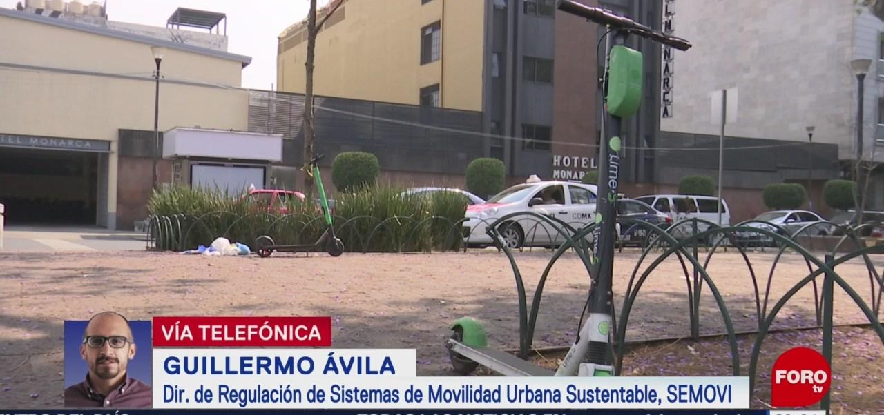 Foto: Inconformidad Motopatines Scooters Patines Electricos Cdmx 22 Marzo 2019
