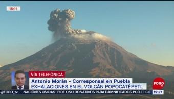 Foto: Caída De Ceniza Puebla Actividad Volcán Popocatépetl 22 de Marzo 2019