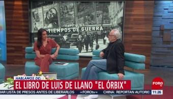 FOTO: Productor Luis de Llano presenta su libro 'El Órbix', 23 Marzo 2019
