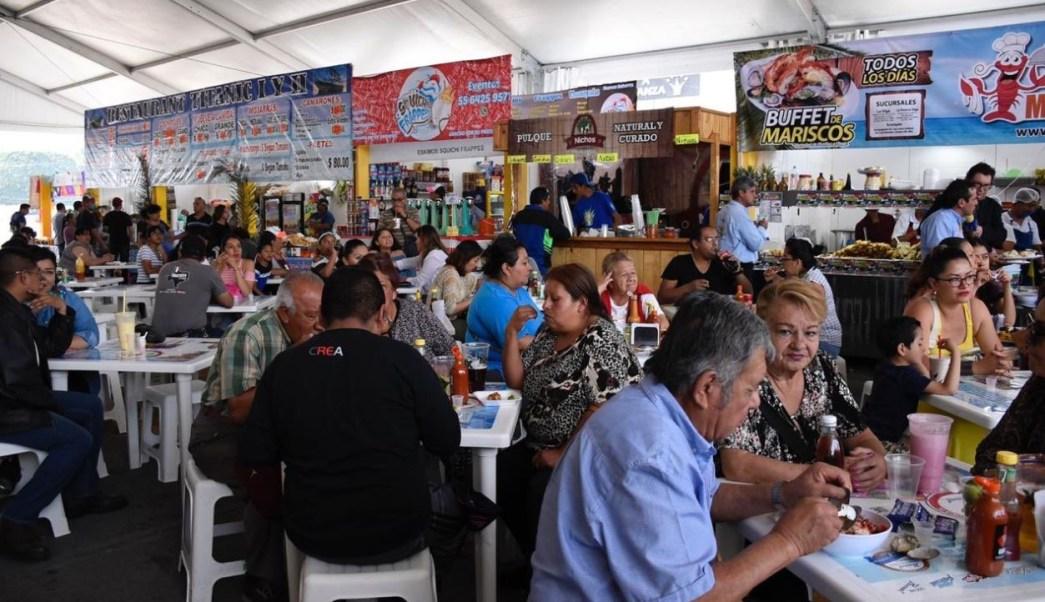 Foto:Realizan en la alcaldía Venustiano Carranza el 7° Festival del Marisco, 31 marzo 2019