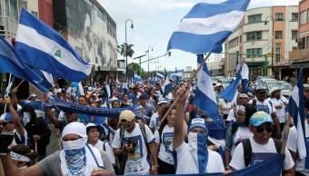 Foto: Disidentes nicaragüenses protestan contra el gobierno del presidente Daniel Ortega, 20 de enero de 2019 (Reuters)