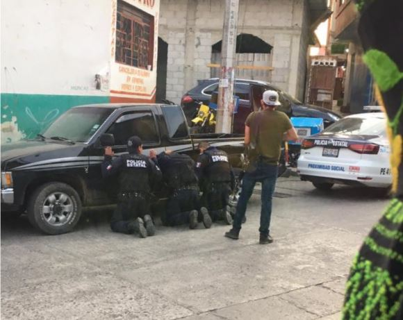 Foto: Hasta el momento se desconoce el paradero de los 8 policías estatales, el 31 de marzo de 2019 (Noticieros Televisa, especial)
