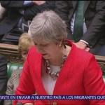 Reino Unido contempla aplazar el Brexit tras voto del Parlamento