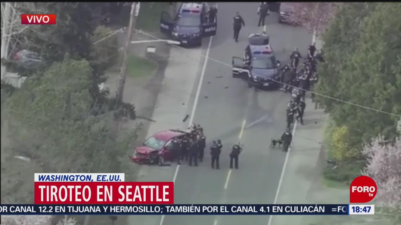 Foto: Reportan tiroteo en Seattle, EEUU
