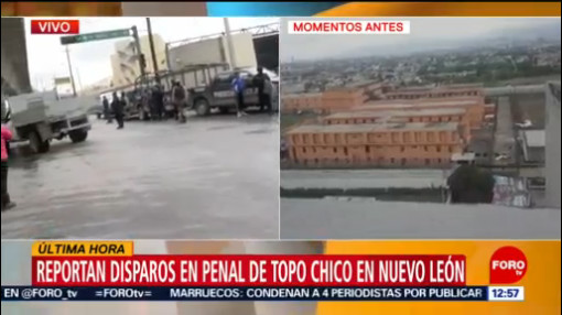 Reportan un reo herido por disturbios en penal de Topo Chico, NL