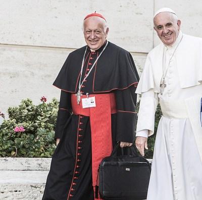 Papa acepta renuncia del arzobispo Ezzati, imputado por encubrimiento en Chile