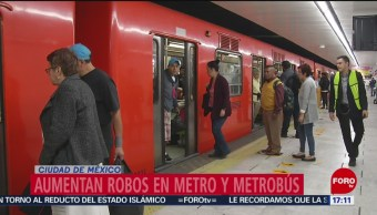 Foto: Robos en el Metro aumentaron 400 por ciento