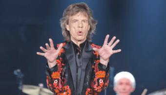 Rolling Stones suspende gira, en Estados Unidos y Canada, Mick Jagger está enfermo (AP 22 octubre 2017 francia)