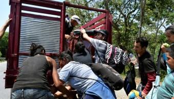 'Caravanas son una realidad, no un invento', reitera gobierno de México