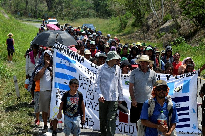 alerta segob por presunta caravana de 20 mil migrantes centroamericanos