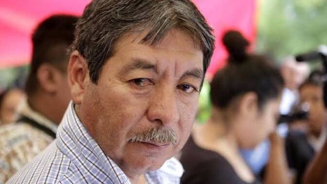 Foto: Rubén Núñez, exlíder de la Sección 22 de la CNTE, 24 marzo 2013