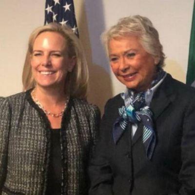 Sánchez Cordero y Kirstjen Nielsen se reúnen en Miami; tratan temas migratorios