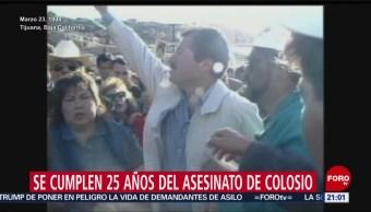 Foto: 25 Años Homicidio Luis Donaldo Colosio 22 de Marzo 2019