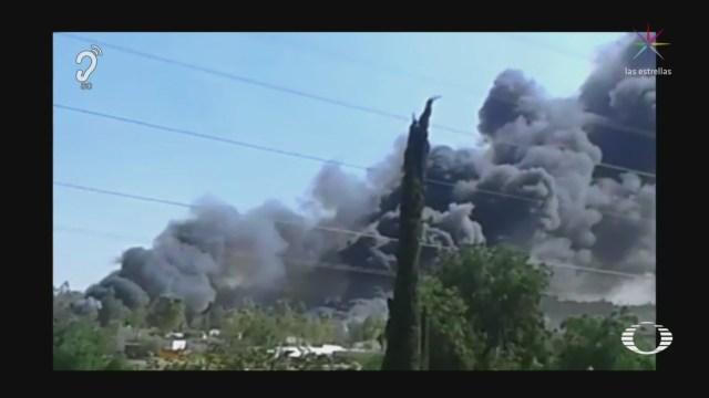 Foto: Explosión Taller Pirotecnia Chimalhuacán 26 de Marzo 2019