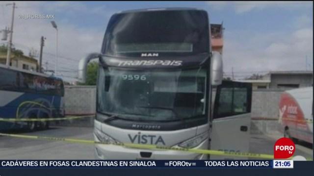 FOTO: Secuestran a 19 pasajeros en Matamoros, Tamaulipas, 10 marzo 2019