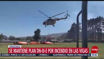 Foto: Sedena mantiene Plan DNIII en Las Vigas, Veracruz