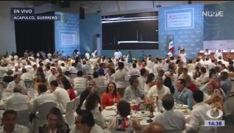 Foto: Segundo día de Convención Bancaria en Acapulco