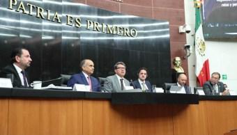 Foto: Senadores de todas las bancadas se manifestaron a favor de discutir el tema para una reforma legal que beneficie a México, el 1 de marzo de 2019 (Twitter @senadomexicano)