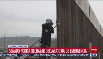 FOTO: Senado podría rechazar declaratoria de emergencia en Estados Unidos, 3 marzo 2019
