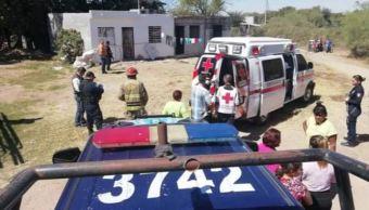 Foto: Elementos de Seguridad Pública, Bomberos, Cruz Roja, Protección Civil y Ejército acudieron al lugar para realizar las investigaciones correspondientes, el 1 de marzo de 2019 (SSP Sinaloa)